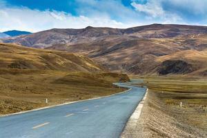 paysage du tibet photo