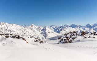 paysage de montagnes photo