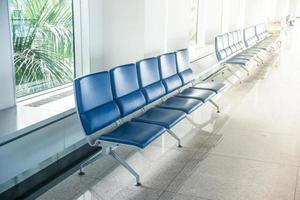 zone d'attente pour l'aéroport photo