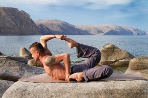 yoga et gymnastique photo