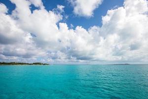 paysage aux bahamas. photo