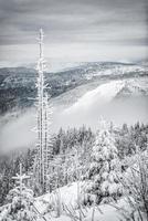 randonnée d'hiver photo