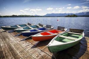 bateaux à rames photo