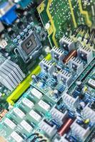 carte de circuit informatique photo