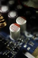 ordinateur de carte de circuit imprimé photo