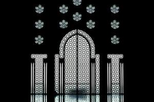 architecture arabe mosquée hassan 2 photo