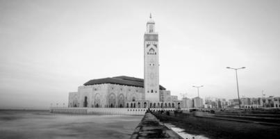 mosquée hassan ii photo