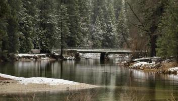 pont d'hiver photo