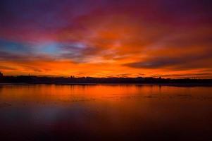 lac de la ville photo