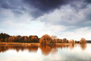 lac d'automne