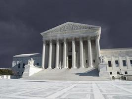 nous cour suprême orage washington dc photo
