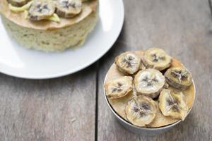 gâteau aux bananes maison photo