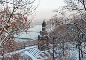 monument de saint vladimir à kiev photo