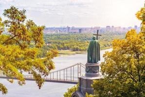 st vladimir, monument à kiev photo
