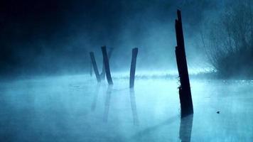 lac tôt le matin photo