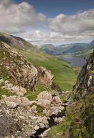 point de vue de Lake District