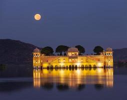 jal mahal (palais de l'eau). Jaipur, Rajasthan, Inde photo