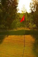 terrain de golf photo