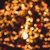 arbre de Noël défocalisé