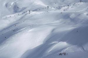 vallée de ski à tignes photo