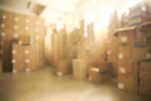 entrepôt flou photo