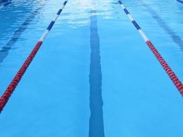 couloir de piscine photo