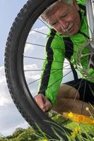 cycliste photo