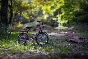 vélo rouge photo