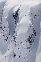planche à neige extrême hors-piste photo