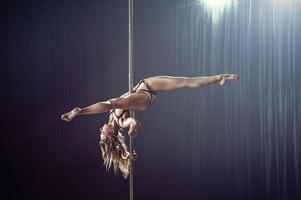 pole dancer photo