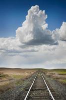 chemin de fer vers nulle part photo
