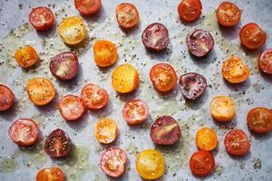 tomates rôties photo