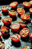 tomates cerises au four photo
