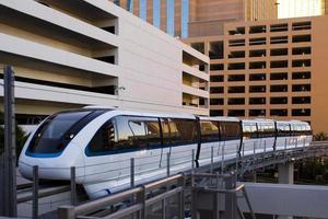 monorail de las vegas photo