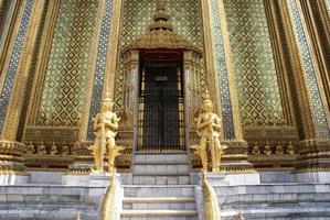 entrée du temple photo
