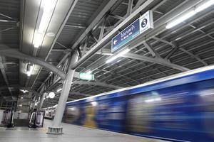 système de train aérien de Bangkok photo