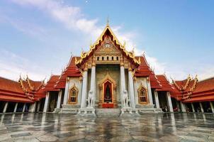 wat benjamabophit à bangkok photo