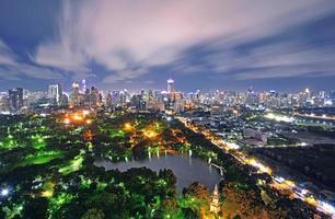 parc lumphini, bangkok, thaïlande