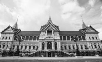 grand palais et temple wat phra kaew photo