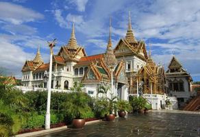 grand palais à bangkok, thaïlande.