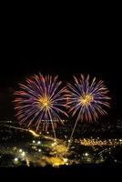 feux d'artifice de la Thaïlande photo