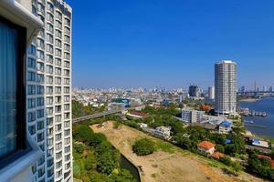 Skyline de Bangkok.