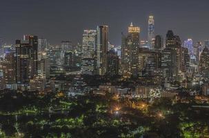 crépuscule de Bangkok photo