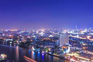point de repère de bangkok. photo