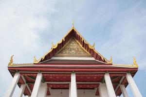 temple à bangkok, thaïlande. photo