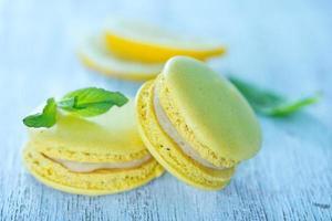 macarons au citron photo