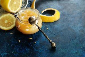 citron caillé horizontal photo