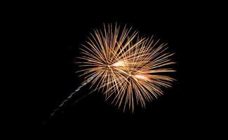 feux d'artifice de la plage de l'île coney photo