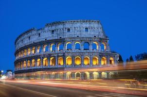 colisée, rome - italie photo