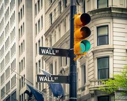 Wall Street, New York photo